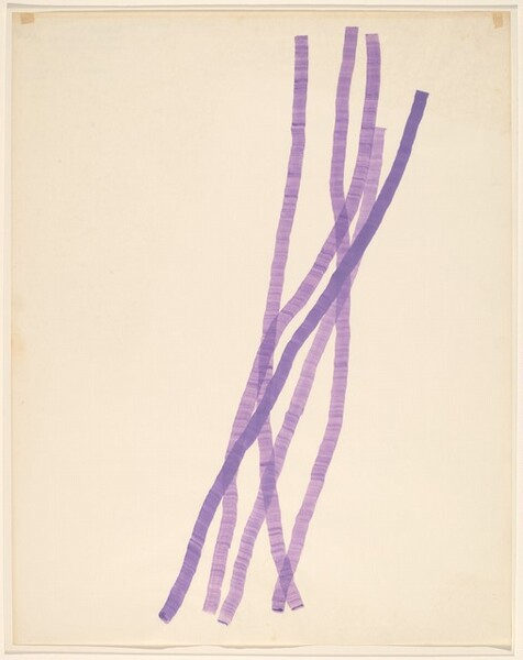 Purple Wash Drawing/First of the Group...
