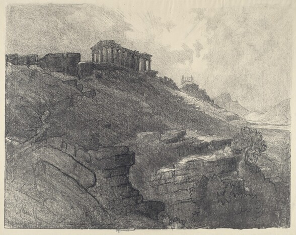 The Temples on the Wall, Girgenti