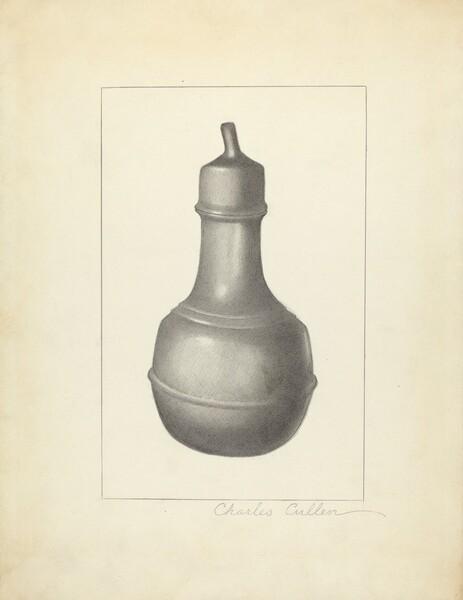 Pewter Nursing Bottle