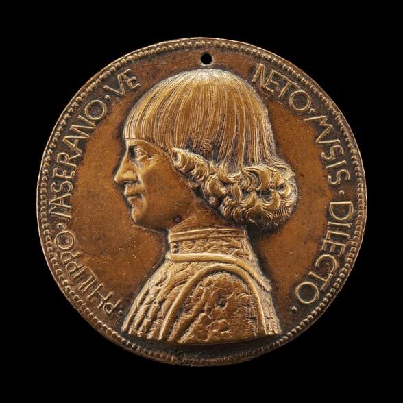 Filippo Maserano, Venetian Poet [obverse]