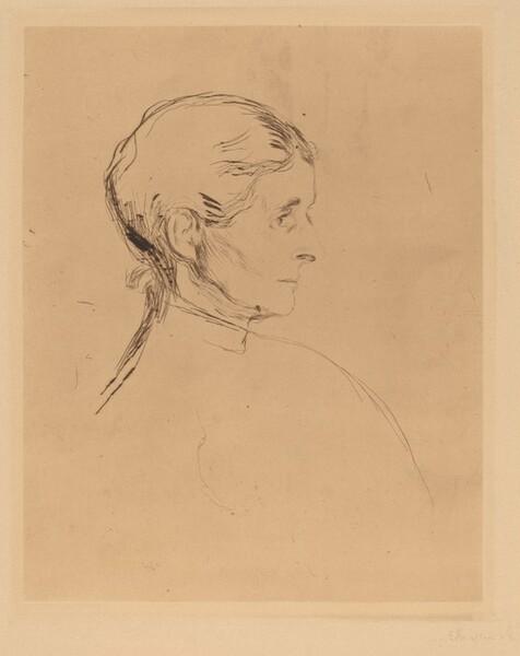 Portrait of a Woman (Portrait einer Dame)