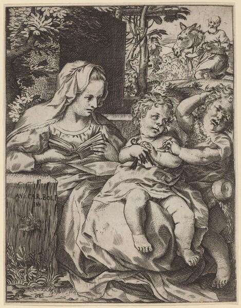 The Madonna of the Swallow (La Madonna Della Rondinella)