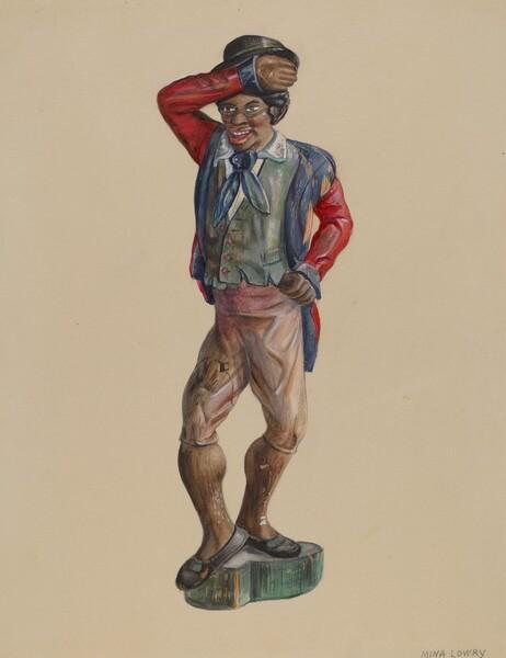Figure of a Black Man