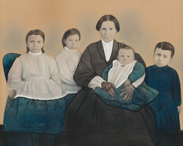 Portrait of a Mother and Four Children