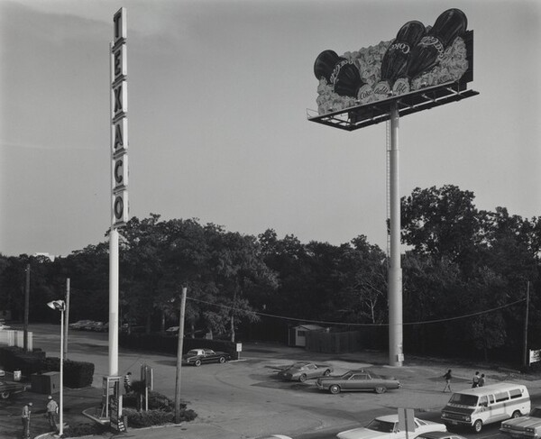 Signs near Freeway--Houston, Texas