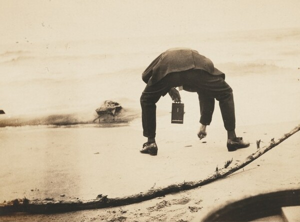 Untitled (Crab man)