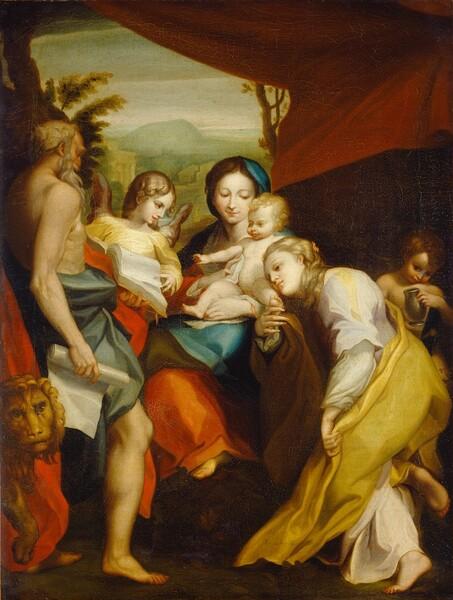 Madonna of Saint Jerome