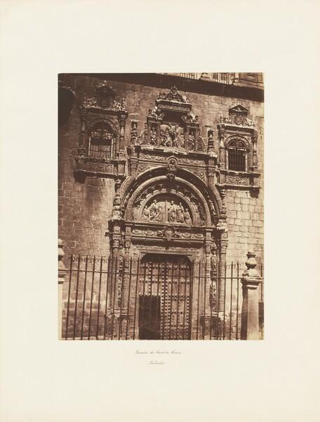 Puerta de Santa Cruz, Toledo