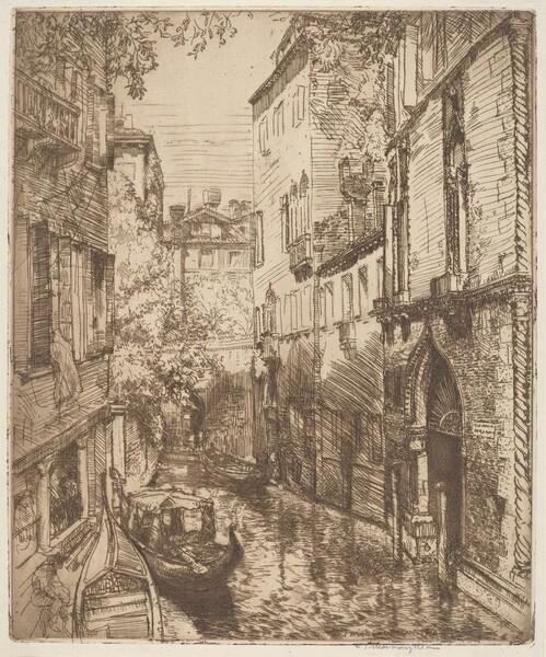 Rio delle Verona, Venice