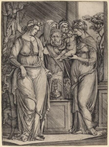 Large Sacrifice to Priapus