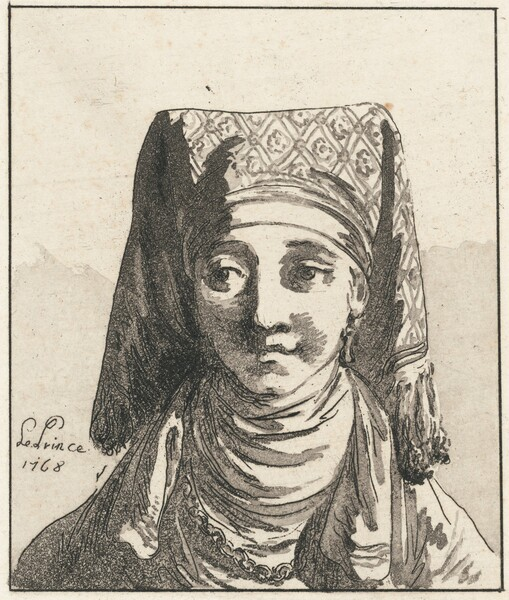 Head of a Woman, Full Face