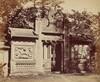 Exterior of the Tomb Depot Near Pekin, October 1860