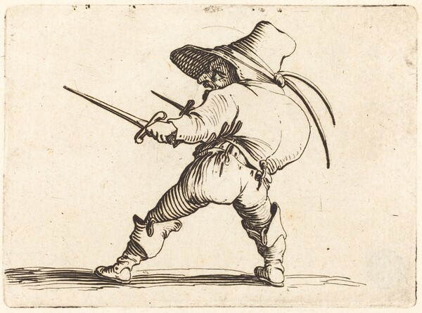 Duellist with Sword and Dagger