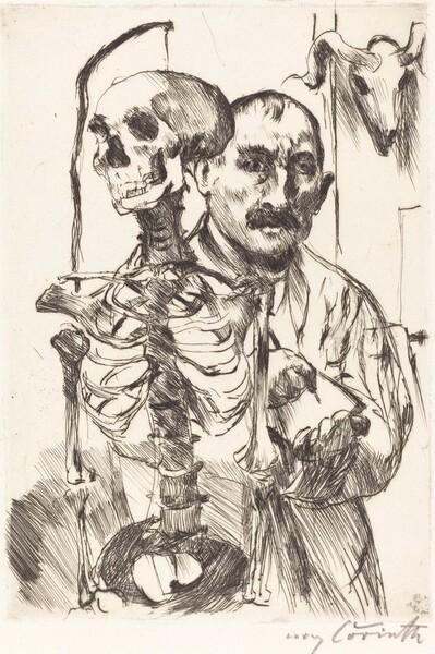 Der Künstler und der Tod II (The Artist and Death II)