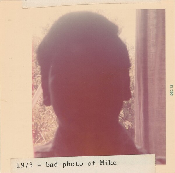 1973 - bad photo of Mike