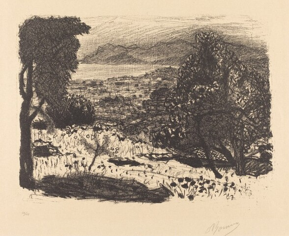 Landscape from the South of France (Paysage du Midi)