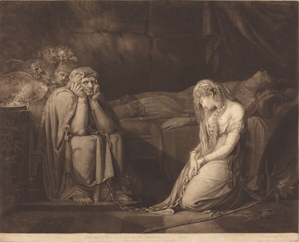 Belisane and Parcival under the Enchantment of Urma