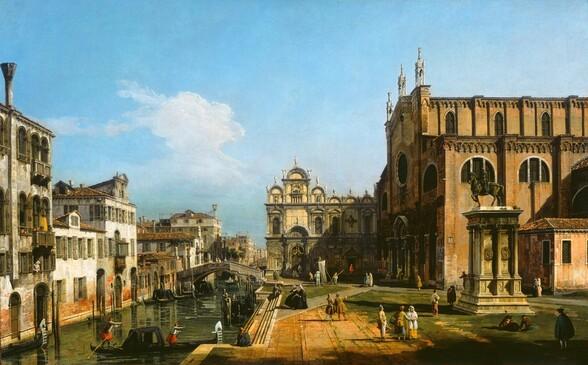 The Campo di SS. Giovanni e Paolo, Venice