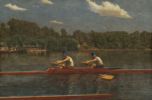 <p>Thomas Eakins, The Biglin Brothers Racing, 1872