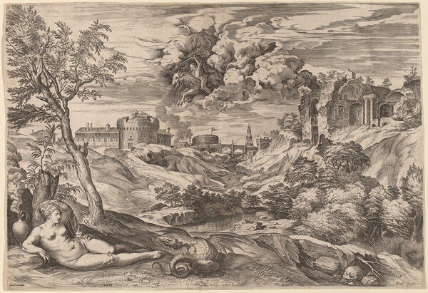 Landscape with Roger Liberating Angelica