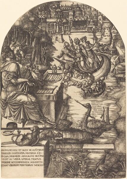 Jean Duvet as Saint John the Evangelist