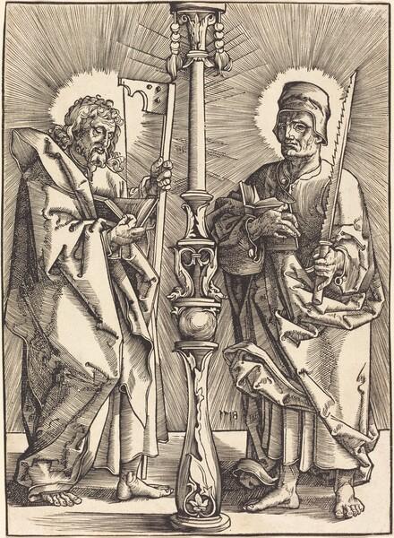 Saint James the Less and Saint Simon