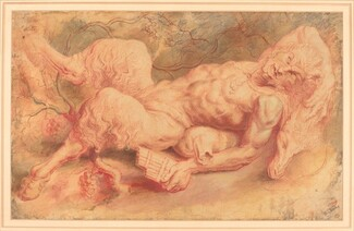Sir Peter Paul Rubens, Pan Reclining, possibly c. 1610