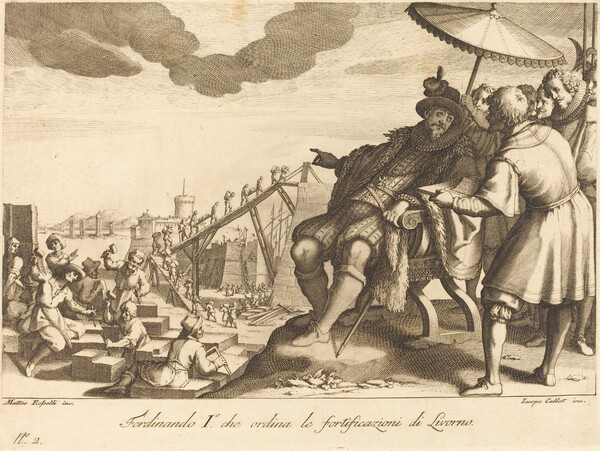 Construction and Fortification of the Port  of Livorno