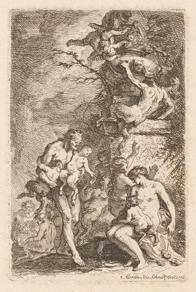 The Education of Satyr Children