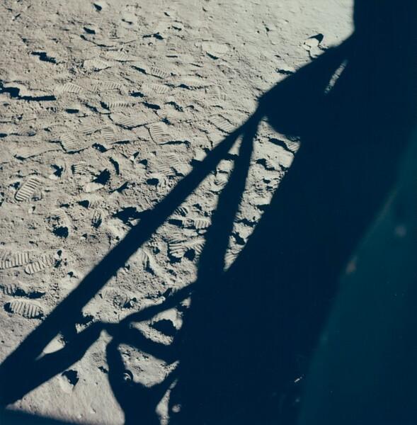 Apollo 11 LM on Moon