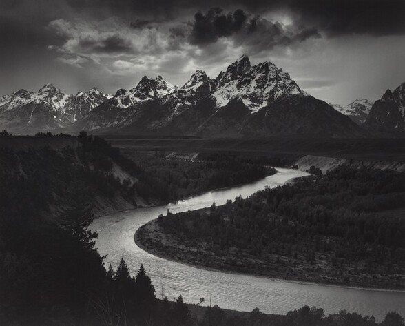The Tetons and the Snake River, Grand Teton National Park, Wyoming