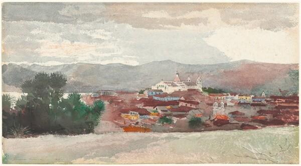 View of Santiago de Cuba