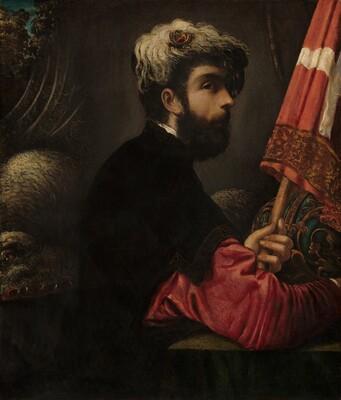 Portrait of a Man as Saint George