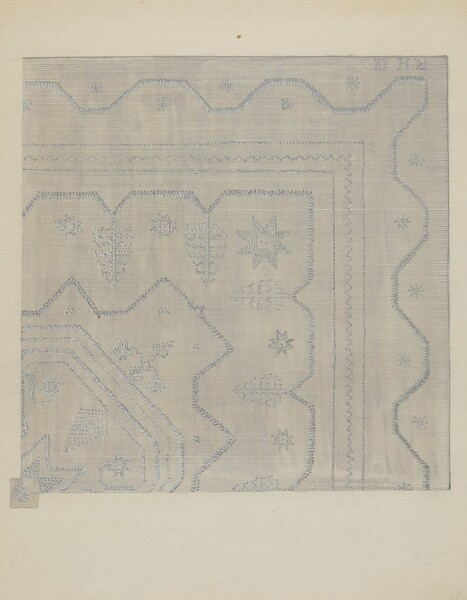 Candlewick Coverlet (Woven)