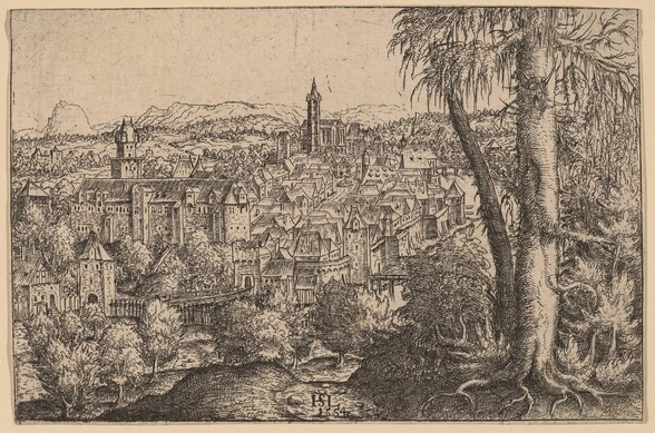 View of Steyr on Enns