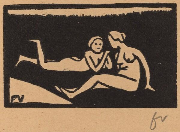 Bathers on the Grass (Baigneuses étendues sur l