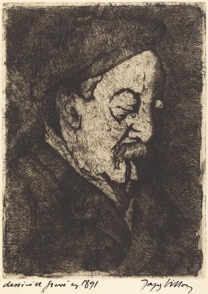 Émile Nicolle (Portrait du peintre-graveur Émile Nicolle)