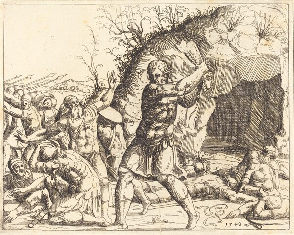Samson Slays the Philistines