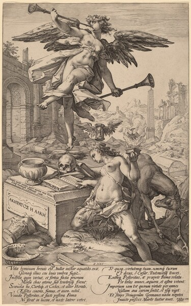 The Allegory of Fame and History