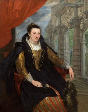 Sir Anthony van Dyck, Isabella Brant, 16211621