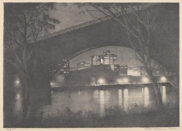 Night (Eads Bridge, St. Louis, Missouri)