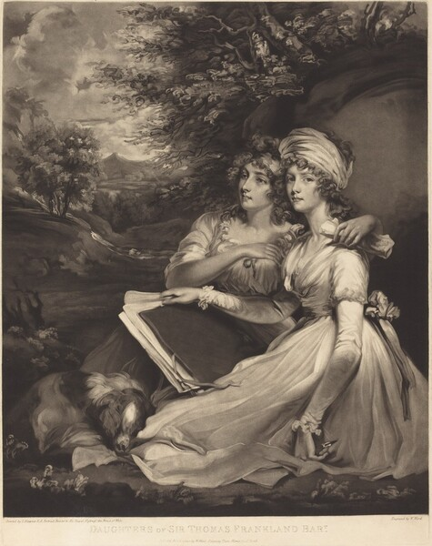 Daughters of Sir Thomas Frankland Bart (The Sisters)