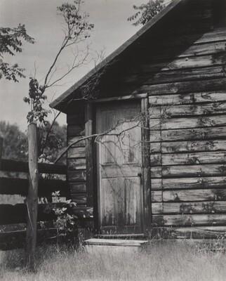 Door to Shanty, Lake George