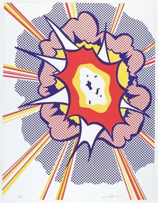 Roy Lichtenstein, Explosion, 1967
