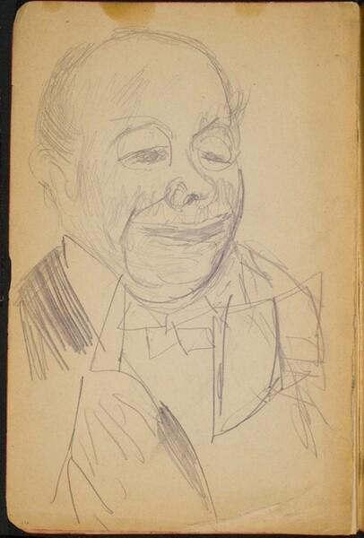 Mann im Frack (Man in Dress Coat) [p. 16]