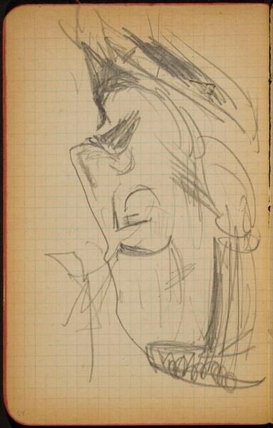 Männliche Bildnisstudie (Male Portrait Study) [p. 54]