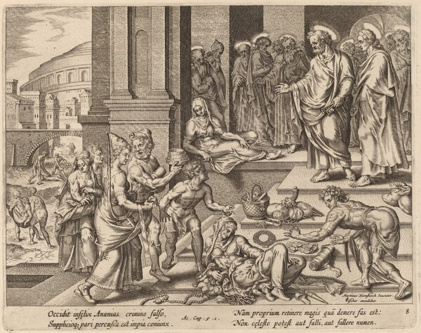 The Deaths of Ananias and Sapphira