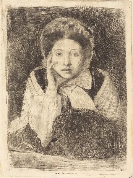 Marguerite De Gas, the Artist