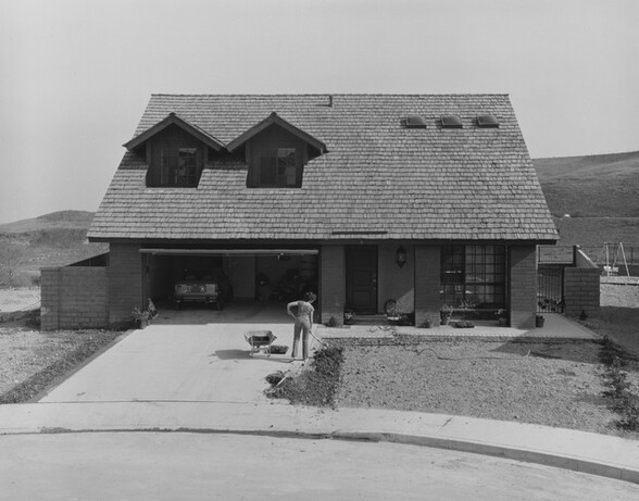 Landscaping, Phillips Ranch, California