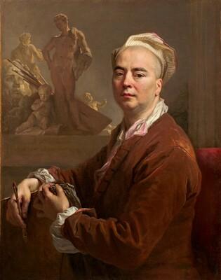Nicolas de Largillierre, Self-Portrait, 1707